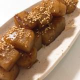 お弁当に♬ こんにゃくのサイコロステーキ