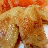 鶏手羽先のヘルシーフライパン焼き(下処理付き)