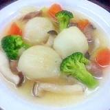 ★カブがゴロゴロ♪野菜のスープ煮★