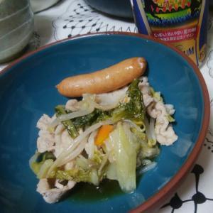 豚と野菜のだし煮