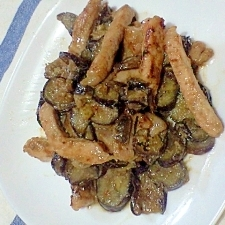 作り置き味噌ダレで☆豚とナスの味噌炒め