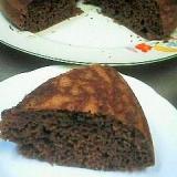 炊飯器で簡単!!チョコレートケーキ♪