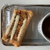 カレー鮭ペッパーチーズスティックパン