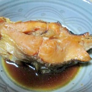 琵琶マスの煮魚