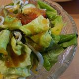 しらすのグリーンサラダ