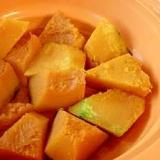 シリコンスチーマーで簡単♪ほくほくかぼちゃの煮物