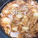 超時短!キムチスープ