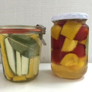 ズッキーニ&パプリカ&プチトマトの簡単ピクルス