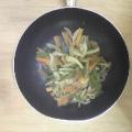 新玉ねぎの野菜炒め