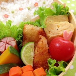 お弁当のおかずに☆簡単 白身魚のチーズフライ♪