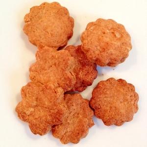 素朴な味のきな粉と牛乳のクッキー