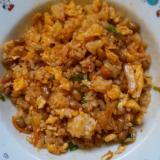 栄養満点!納豆キムチチャーハン