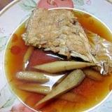 鯛とごぼうの煮付け