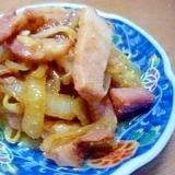 *お弁当おかず*焼き豚&玉ねぎ&もやし炒め