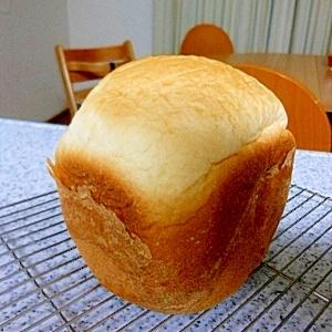 HB早焼きでしっとりはちみつ食パン