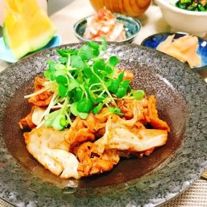 夏バテ防止に♪豚肉とキャベツの味噌炒め