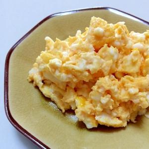 ◎レンジで卵サラダ