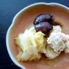 鶏肉と野菜のマリアージュ「鶏つくねの煮物」献立
