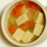 高野豆腐入り味噌汁