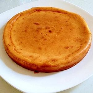 簡単☆ヘルシー☆ふわふわチーズケーキ