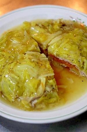 塩麴豚と春野菜の重ね煮
