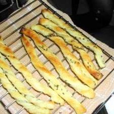 簡単♪パイシートと使ってゴマチーズスティック