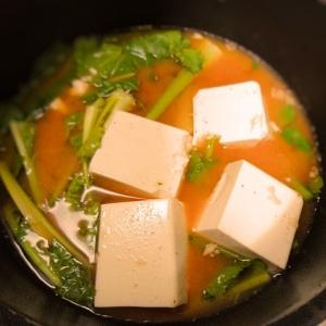 豆腐と春雨のピリから味噌スープ