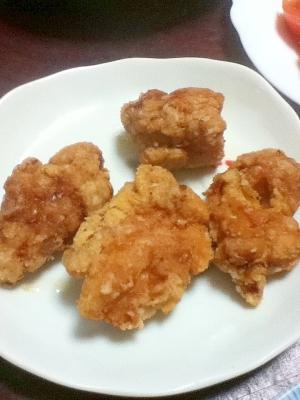 カレー香る☆鶏の唐揚げ【下味アレンジレシピ】