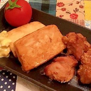 【レンジでノンフライ】お好み焼き粉で鶏のから揚げ