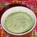 ブロッコリーのスパイシー冷製スープ