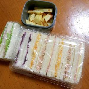 5種類のサンドイッチ弁当