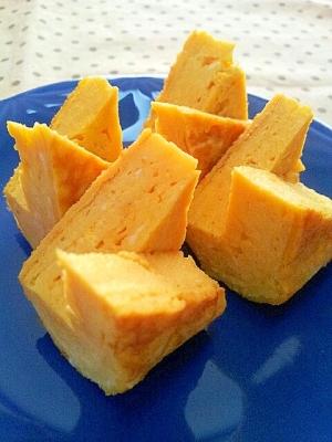 簡単お弁当のおかず✿お醤油とお砂糖の卵焼き❤