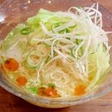 インスタントで☆簡単♪野菜たっぷり冷やし塩ラーメン