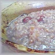 圧力鍋で!アミノ酸バランスがいい黒豆入り発芽玄米粥