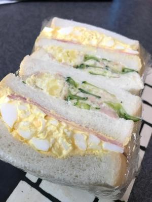 ツナポテタマサンドイッチ
