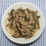 乾燥ピーマンと乾燥タケノコでチンジャオロースー釜飯