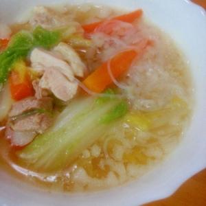 寒い日に最適★白菜スープ