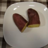 ルクエで簡単ふかし芋
