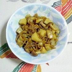 常備菜に、筍とレンコンの炒め物