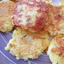 グルテンフリー☆ポテト・チーズ・パンケーキ