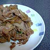 ☆簡単で美味しい・肉炒め☆