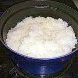 【炊飯】ストウブ(ラウンド20㎝)で炊く白米