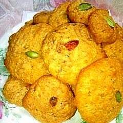 蜂蜜&生姜とオールブランのふんわりクッキー