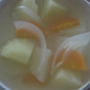 じゃがいもと玉ねぎのスープ