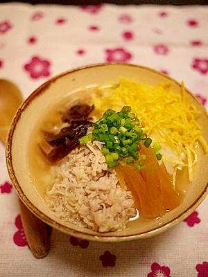 チキンの缶詰で風土料理鶏飯(けいはん)