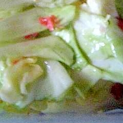 梅キャベツサラダ