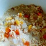 離乳食☆オートミールとツナと野菜のコンソメ煮