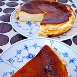 FPで簡単!豆腐のベイクドチーズケーキ