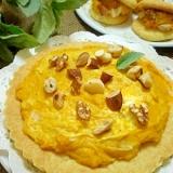 HM使用★かぼちゃとクリームチーズのソフトタルト★