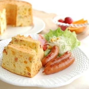 チーズとベーコンのブランチシフォン【No.238】